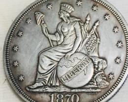 Hobo Coin Liberty Artistic  Form Design   CP 463