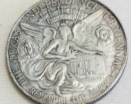 Hobo Coin Remember The ALAMO  Artistic  Form Design   CP 42