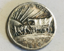 Collectible Hobo The Oregon Trial  Coin CP 495