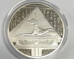 Egyptian  Guardian Anubis Replica Medallion