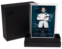 Movie Poster James Bond-Spectre  -5G Silver foil