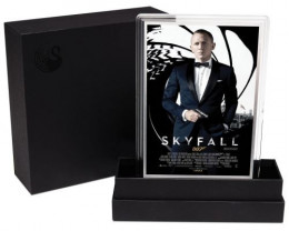 Movie Poster James Bond-Skyfall-5G Silver foil