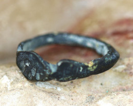Holy Land Artifact Bronze Ring Relic 100-1600 AD -Code Ch 887