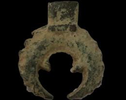 Holy Land Artifact  Bronze 100-400 AD -Code CCC 1099