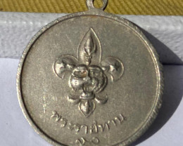 Royal Thailand  Scout Medal, year 1963,