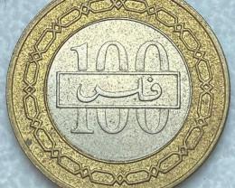 Bahrain 100 fils -2001