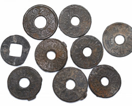 Spice Coin/Palembang Coin - Malay Archipelago 15-18th Century CC 1175
