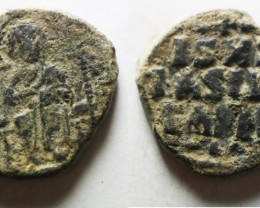 Bust Christ Holding Book of gospel ,Byzantine Empire code CC 1201