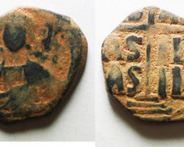 Bust Christ Holding Book of gospel ,Byzantine Empire code CC 1203