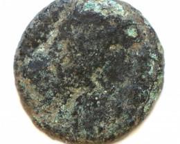 As Found Ancient Roman  Bronze Coin  CCC 1251
