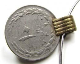 SHAH OF IRAN PRE 1979 COIN PENDANT  J 815