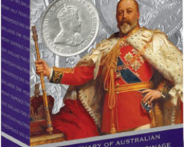 Centenary  Australian Commonwealth Silver Coinage  1910-2010