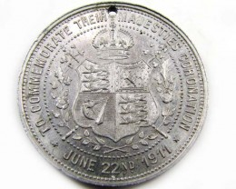 MEDALLION 1911 CORONATION CO 849