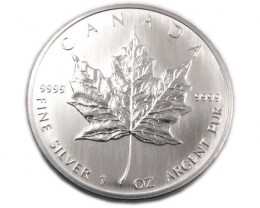 UNC CANADIAN MAPLE SILVER 2006 COIN CO880
