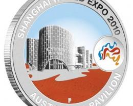 Shanghai World Expo 2010 1oz Australian Pavilion Silver Coin