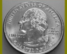 UNITED STATES 2007 D MINT WASHINGTON STATE QUARTER DOLLAR NR