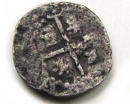 PERU LIMA  PHILIP IV COB 1/2  REAL 1621-1746  AC 672