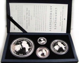 1999 THE AUSTRALIAN KOOKABURRA PROOF SERIES