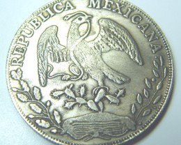 OLD COIN MEXICO-  8-REALES 1839 (OZ-5)