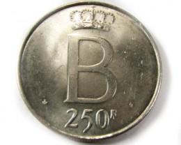 1951  250 F BELGIUM SILVER COIN CO 959