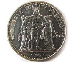 1965 SILVER 10 FRANCS  COIN CO 960