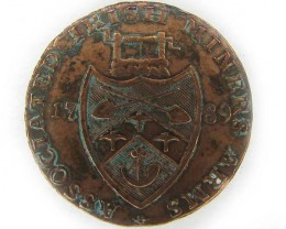 BRITISH  IRISH MINERS ASSOCIATION  TOKEN  J832