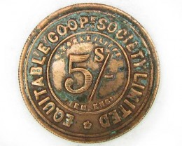 5 s EQUITABLE COOPERATIVE  TOKEN  J833