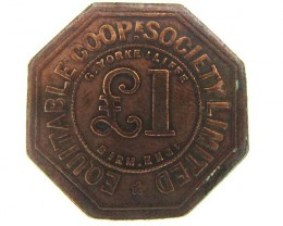 ONE P EQUITABLE COOPERATIVE  TOKEN  J835