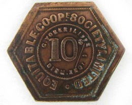 10 s EQUITABLE COOPERATIVE  TOKEN  J841