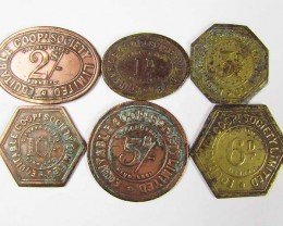 SET SIX EQUITABLE COOPERATIVE  TOKENS  J844