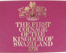 THE FIRST  COINAGE 1974 SWAZILAND   CO 1013