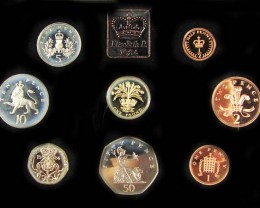 UNITED KINGDOM PROOF 1984 COIN COLLECTION CO 1014