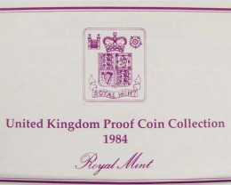 UNITED KINGDOM PROOF 1984 COIN COLLECTION CO 1022