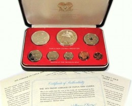 PROOF COINAGE PAPUA AND NEW GUINES 1978   CO 1039