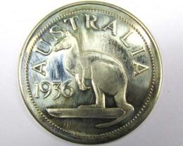 1936 AUSTRALIA WITH KANGAROO  EDWARD KING N EMPORER T 1509