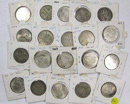 PARCEL 20 FLORIN COINS POST 1946 .500 SILVER J1537