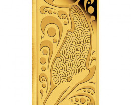 2010 Dolphin Dreaming  2.5g Rectangular Gold Coin 99.99 pure