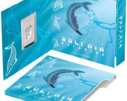 2010 Dolphin Dreaming 1oz 99.9% Silver Coin