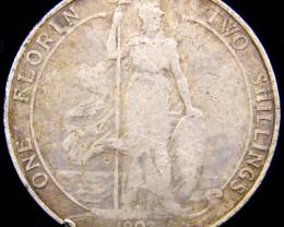 GB  1902  FLORIN .925 SILVER   CO 1083