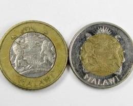 2 X BI METALIC  COINS  2006    J 1566