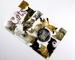 Isle Of Man 2009 Chinchilla Cat coin CO 1107