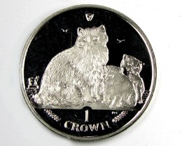 Isle Of Man 2007 Ragdoll Cat coin CO 1109