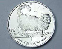 Isle Of Man 1998 Birman  Cat coin CO 1118