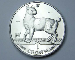 Isle Of Man 1994 japanese Bobtail Cat coin CO 1139
