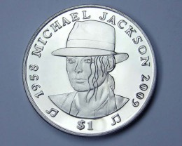 2010 Remember Michael Jackson: 1958 – 2009 Coin CO 1151