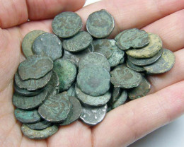 THREE (3)  MIXED ROMAN COINS  AC 713