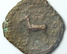 LARGE PHILIP I SESTERTIUS AE1 BRONZE ROMAN COIN    AC721