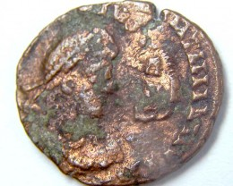 ROMAN AE 4 , OVERSTRUCK ON ANOTHER TYPE COLLECTOR PC   AC725