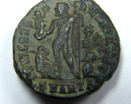 BRONZE ROMAN LICINIUS I, 308-324 AD, FOLLIS , ANTIOC   AC735