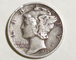 1939 UNITED STATES DIME